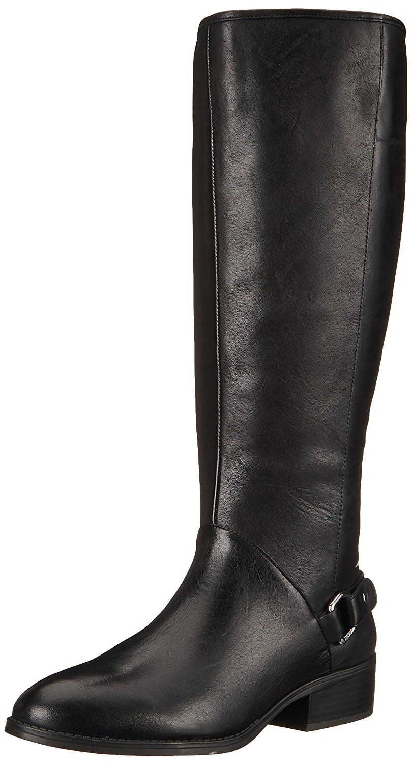 Ralph Lauren Boots Womens - Ralph Lauren Micaela Wide Dark Brown