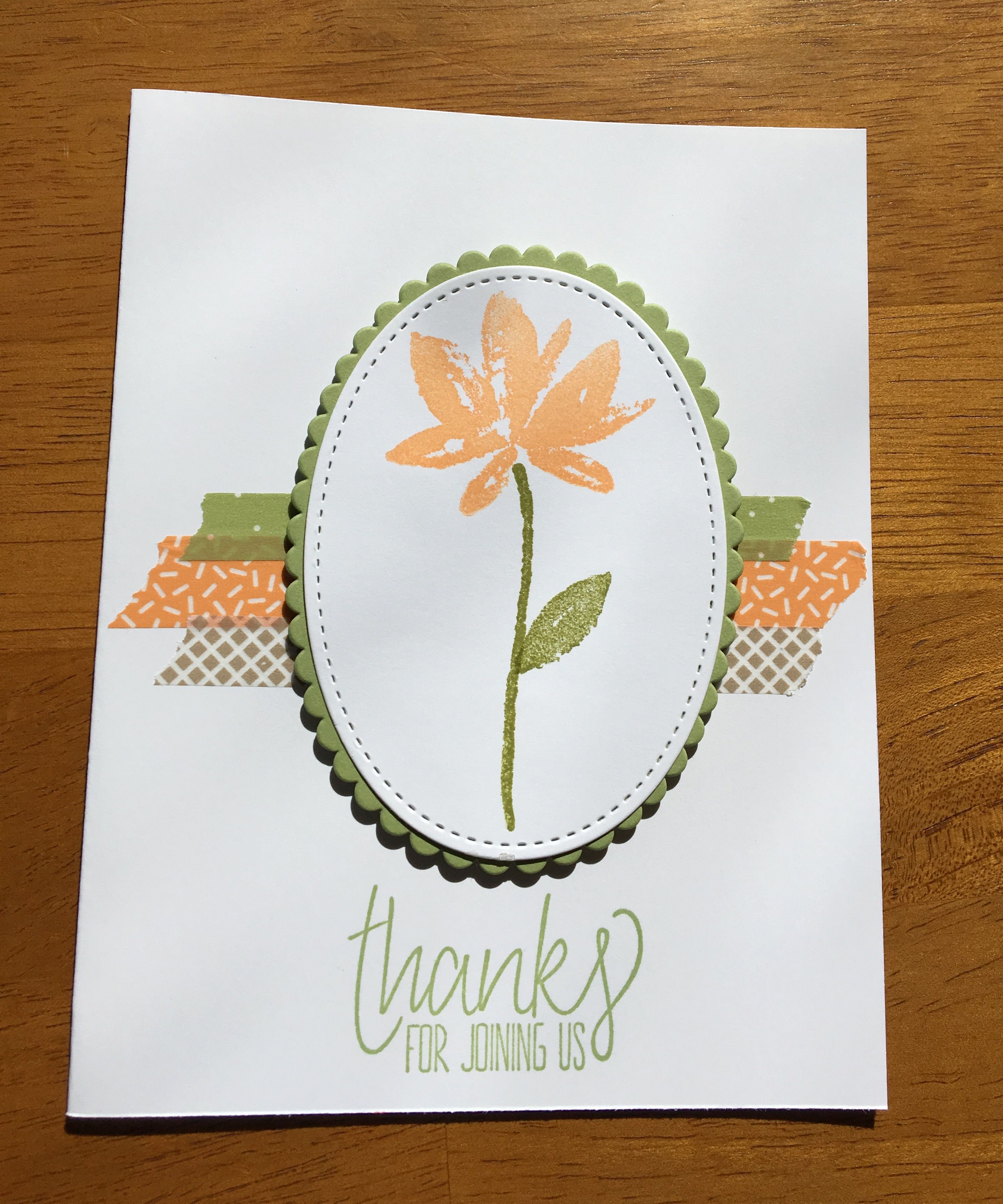 Stampin'Up 2017 Sale-A-Bration Avant Garden Stamp Set