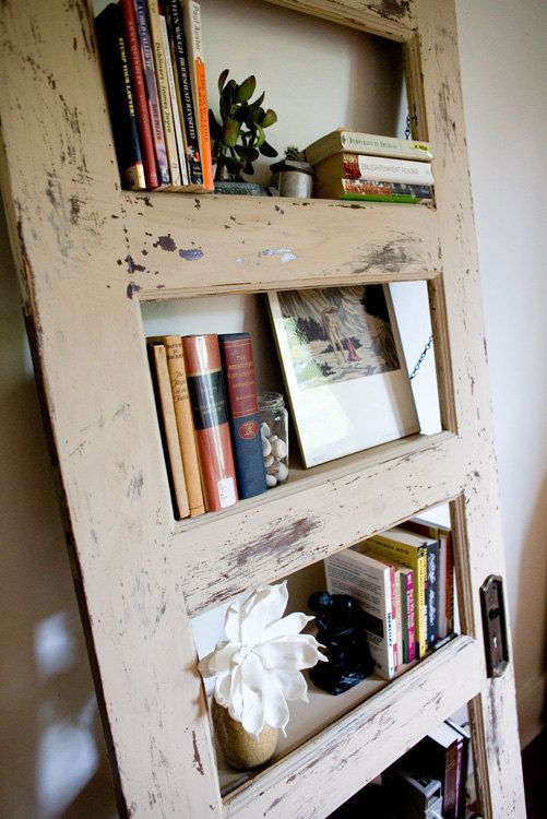 Repurposed Bookcase Worn Out I Have That Door From Baylee