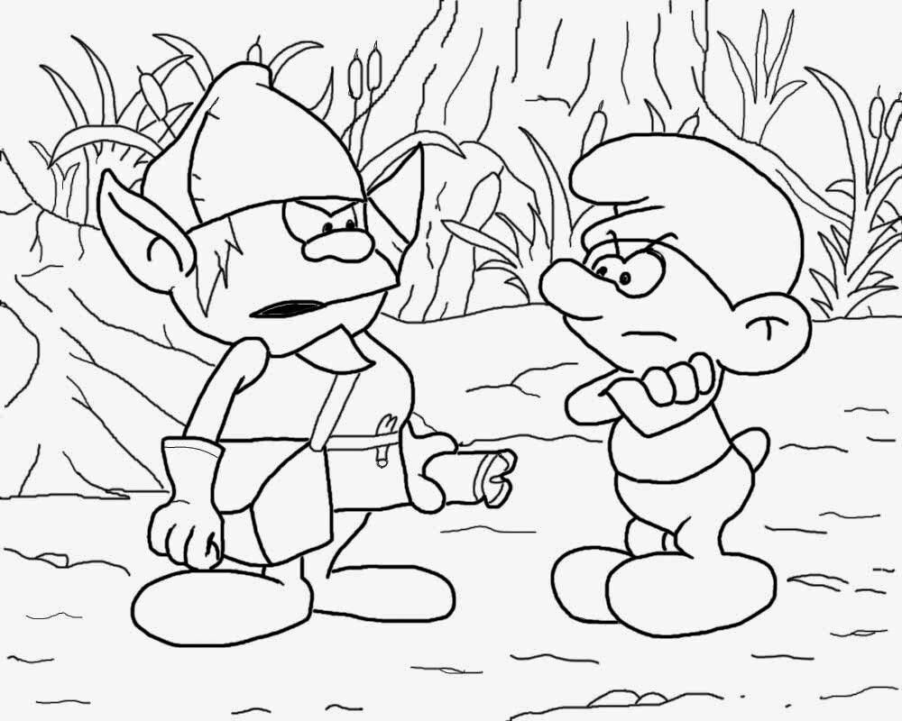 Pin by April Dikty ( Ordoyne) on Smurfs | Coloring pages ...