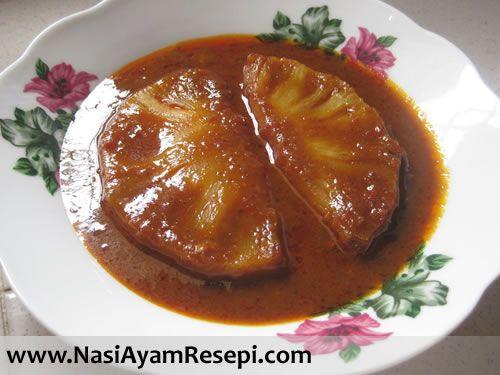 resepi pajeri nenas kuning spicy pineapple curry pajeri nenas wok babe resepi pajeri Resepi Nasi Minyak Untuk Kenduri Kahwin Enak dan Mudah