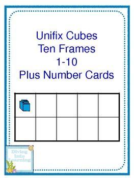 17 Best images about unifix cubes on Pinterest | Number words ...