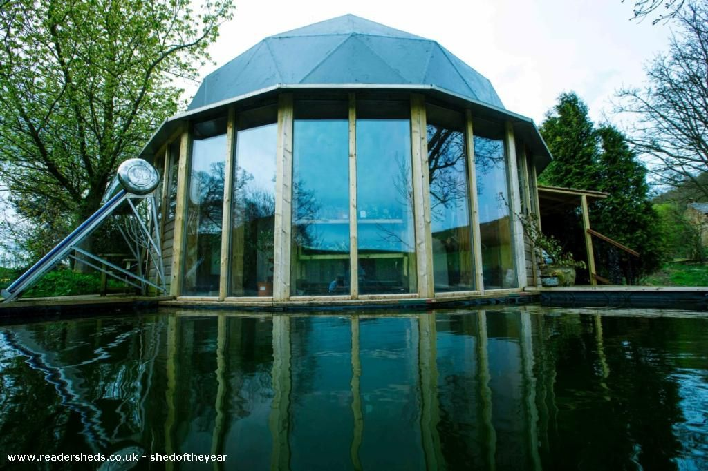 Eco Dome is an entrant for Shed of the year 2015 via @unclewilco  #shedoftheyear