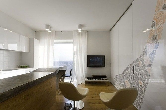 Best Minimalist Apartment In Moscow Exuding Elegance During | Minimalist Home Design
