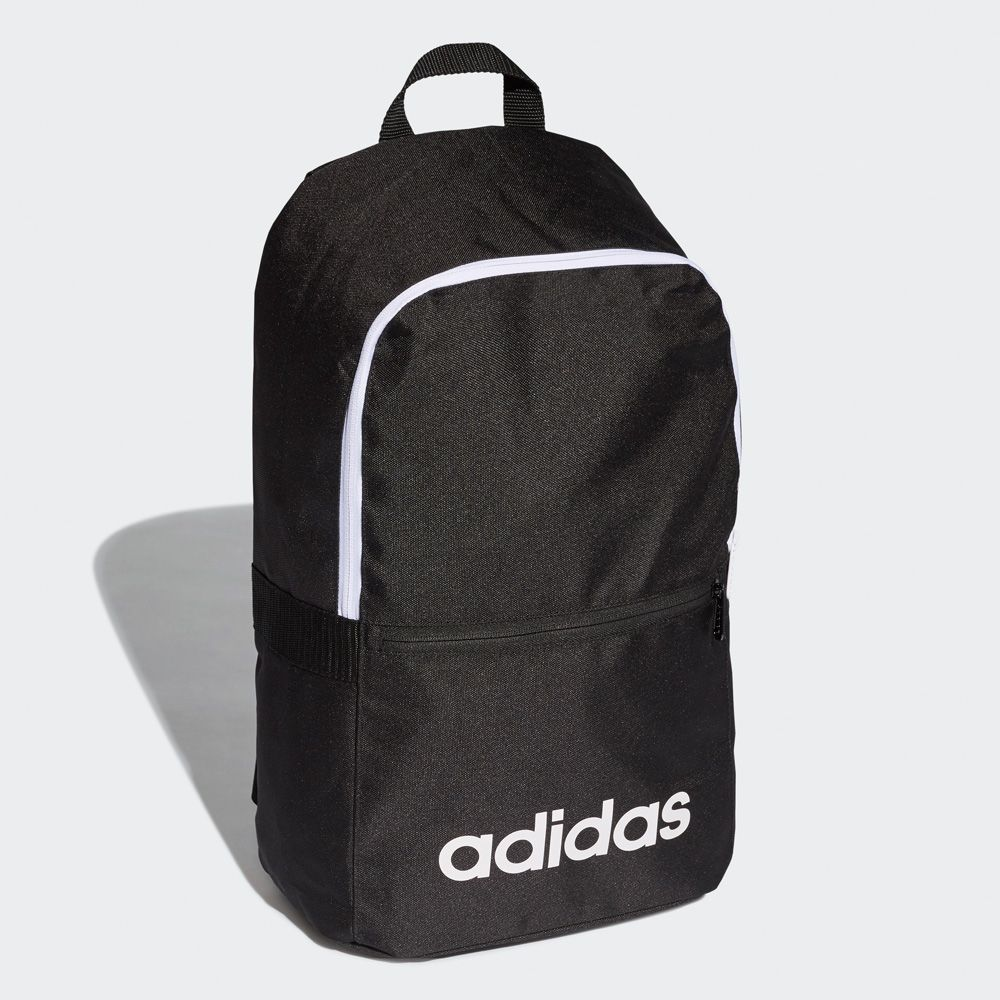 c1dc283a48339 Adidas Linear Classic Backpack Daily (dt8633) in Black/Black/White ...