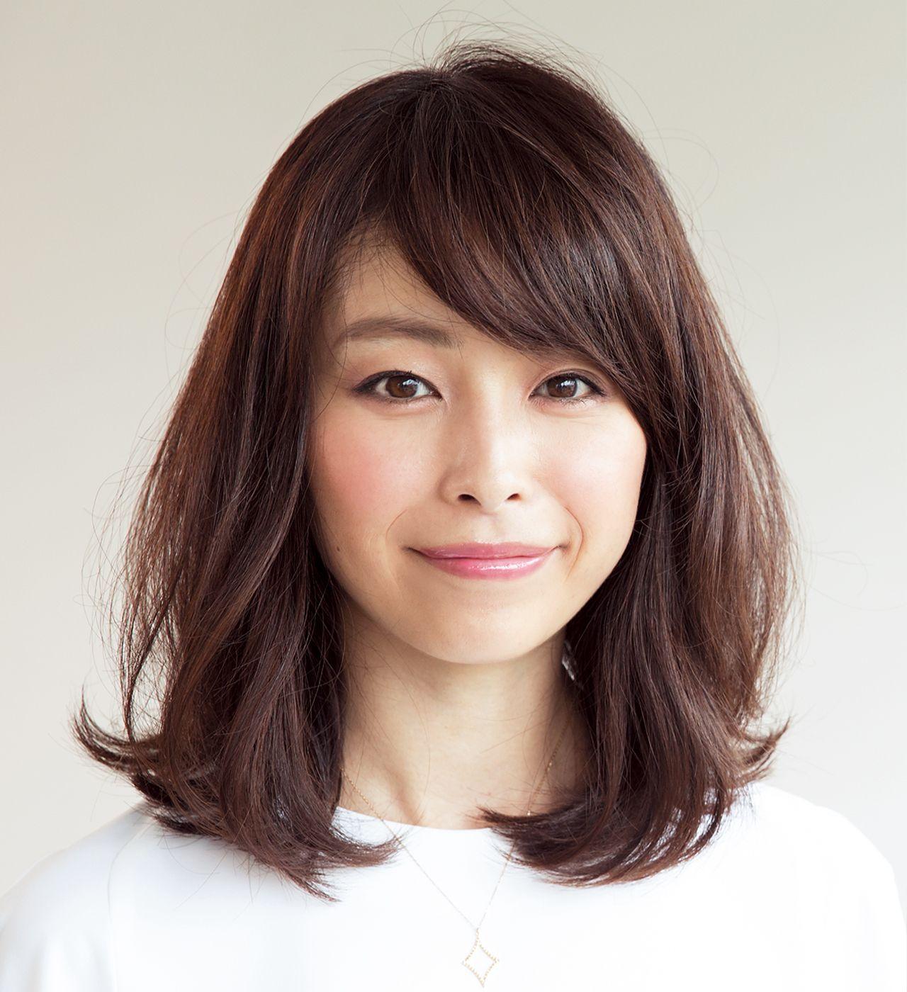 40 髪型 代 ミディアム