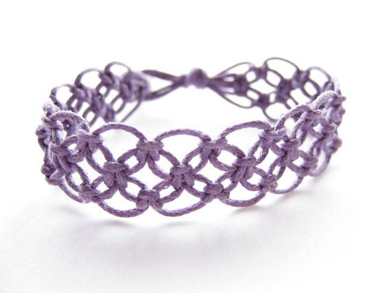 lacy macrame bracelet pattern tutorial pdf purple step by step knot instructions how to. Black Bedroom Furniture Sets. Home Design Ideas