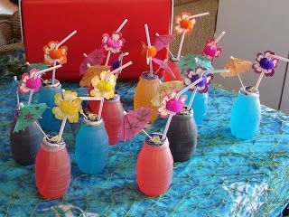 Kids Drinks For Luau Party