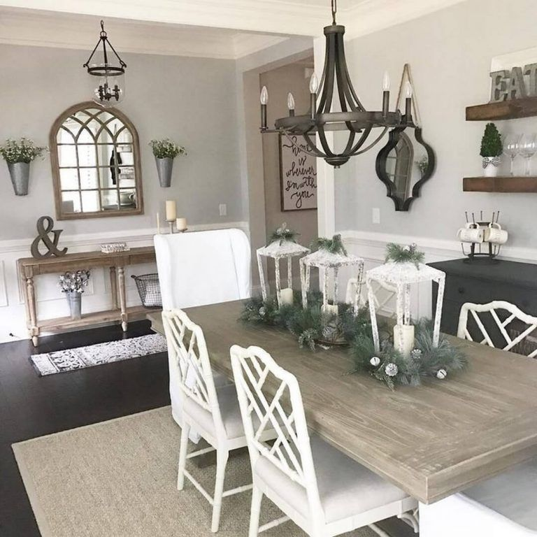 20 Best Ideas Rustic Home Decor Ideas Evenalso The Mostone Of Essential Farmhouse Dining Rooms Decor Modern Farmhouse Dining Room Farmhouse Dining Room Table