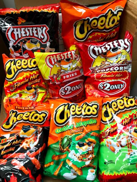 The 8 Best Hot Cheeto Flavors Ranked Junk Food Snacks Sleepover Food Best Junk Food