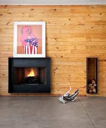 Architectural Detail Steel Fireplace Surrounds Remodelista Fireplace Surrounds Fireplace Design Fireplace