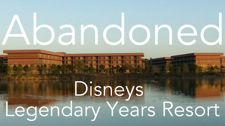 Abandoned Disney' Pop Century- Legendary Years Resort