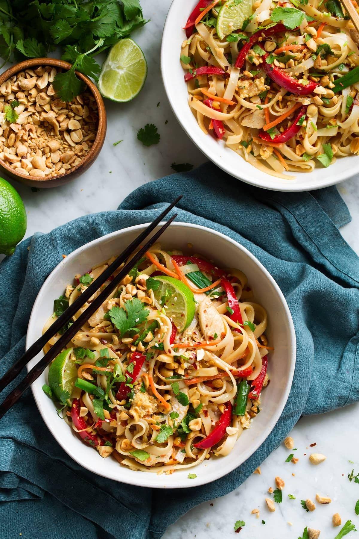 95 wonderful pad thai recipe with chicken or shrimp