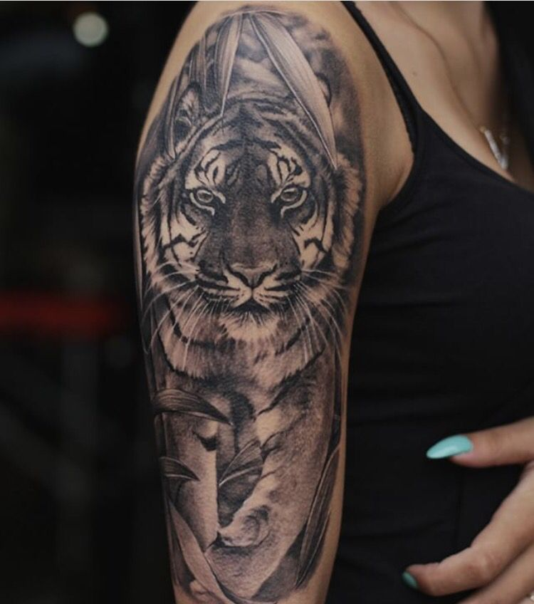 11e219256d78c Sleeve Tiger Tattoo Meaning, Meaning Tattoos, Best Sleeve Tattoos, Body Art  Tattoos,