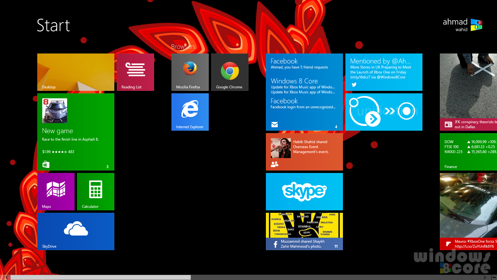 How to increase rows of tiles on Start Screen of Surface