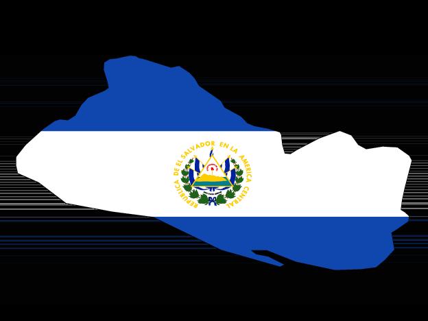 Flag Map Of El Salvador Free Vector Maps El Salvador Flag Map Vector Vector Free