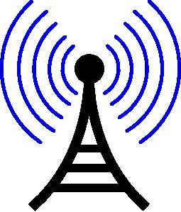 Radio Wireless Tower Clip Art Torre Celular Radio Online