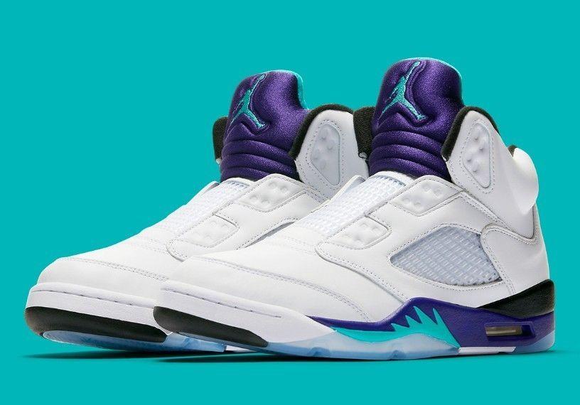 aa1bc29160b416 Nike Air Jordan 5 V Retro NRG Fresh Prince NEW Grape AV3919-135 Size 10   fashion  clothing  shoes  accessories  mensshoes  athleticshoes (ebay link)