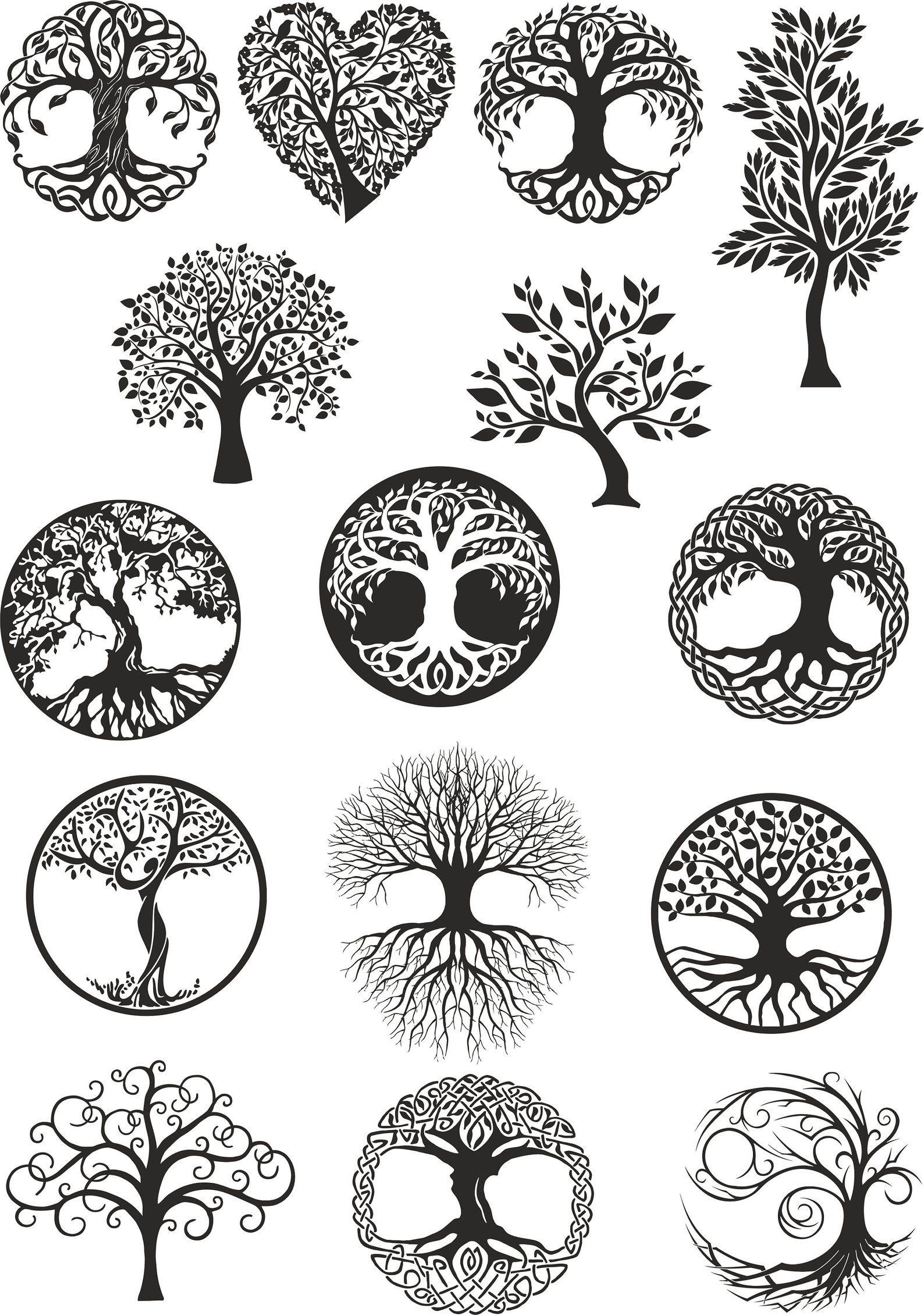 image 20   Tree of life tattoo, Celtic tree of life, Tree tattoo