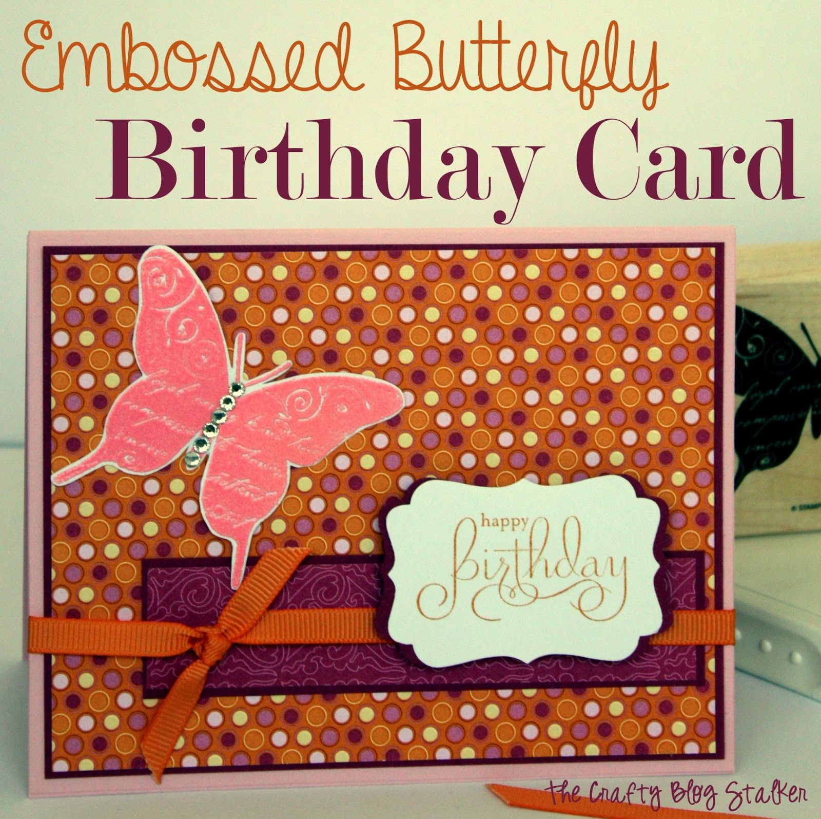 top us craft blog  the crafty blog stalker  butterfly