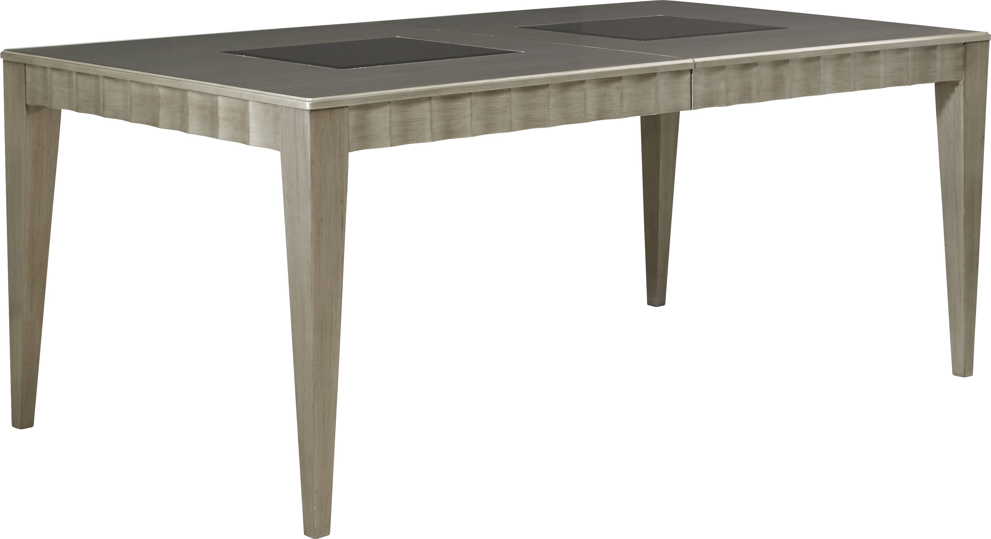 Sofia Vergara Delanco Pewter Dining Table Dining Table Table