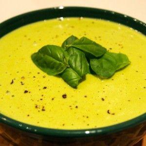 Creamy Potato and Pesto Soup