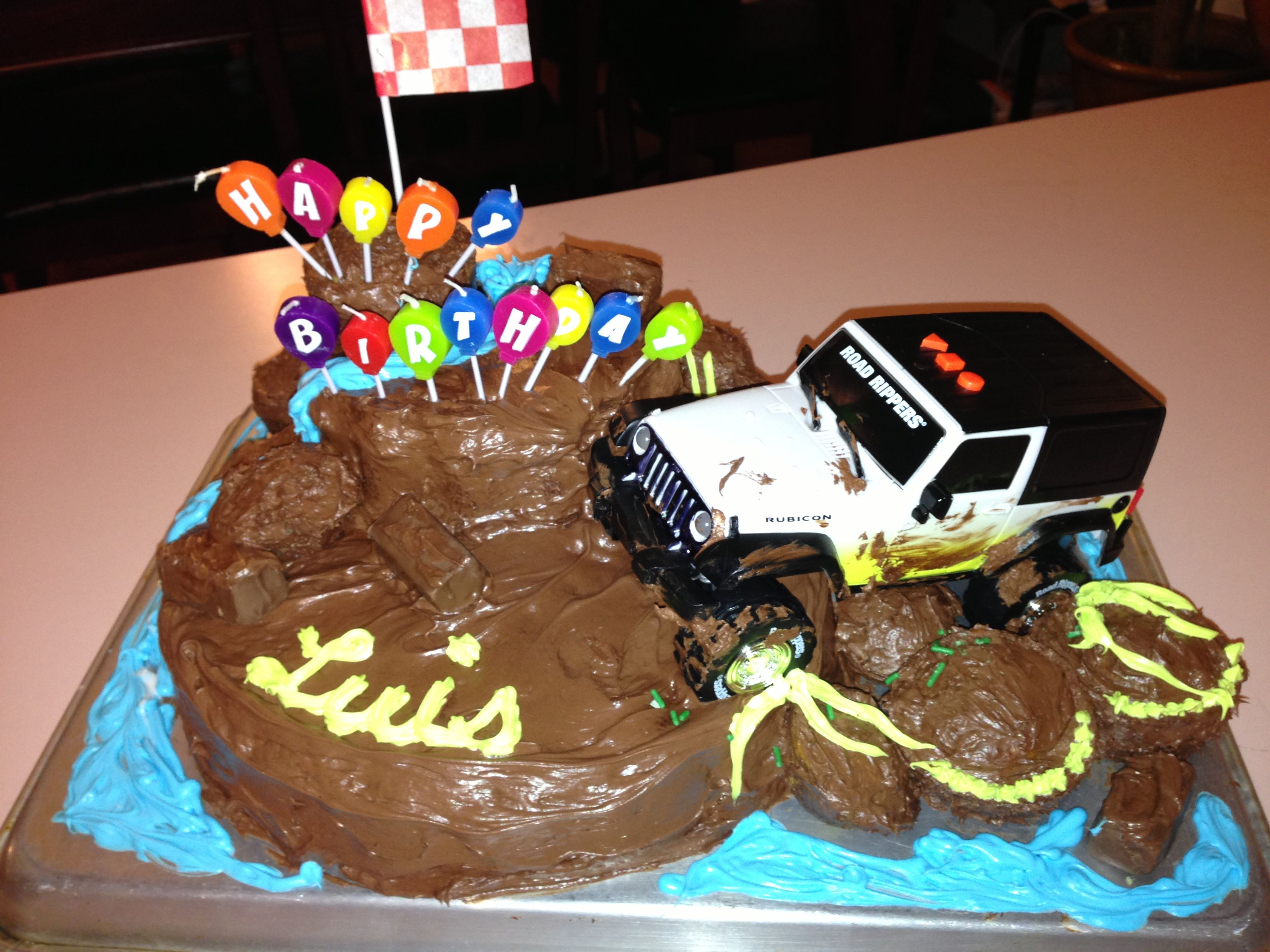 Jeep cake jeep jeepcake happybirthday muddyjeep jeepworld