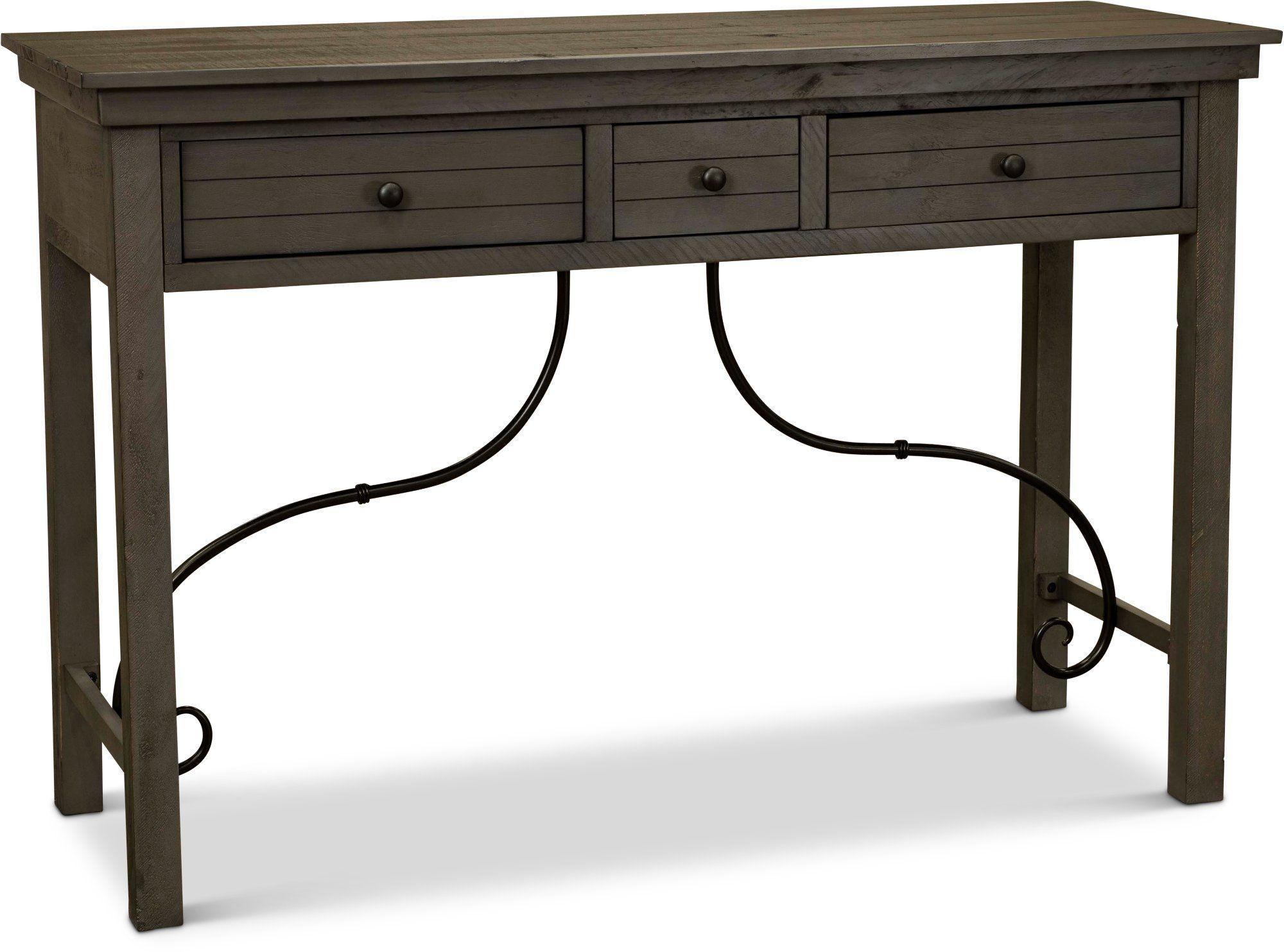 Distressed Gray Sofa Table San Miniato Rustic Sofa Tables