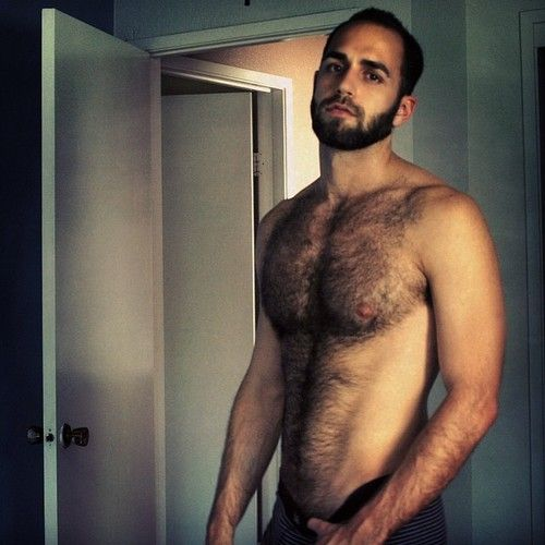 Videos of hairy men