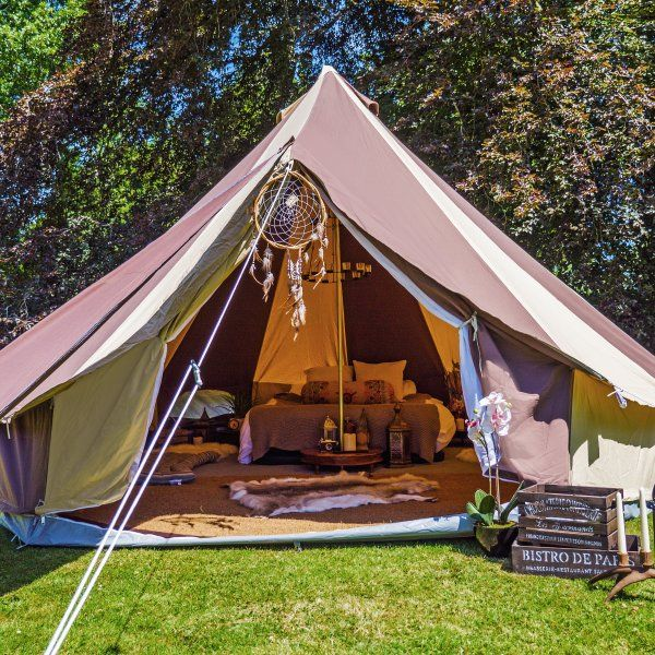 Beautiful bell tents and yurts for hire for your c&ing holiday. Treat yourself to boutique c&ing and cl&ing at an affordable price. & Beautiful bell tents and yurts for hire for your camping holiday ...