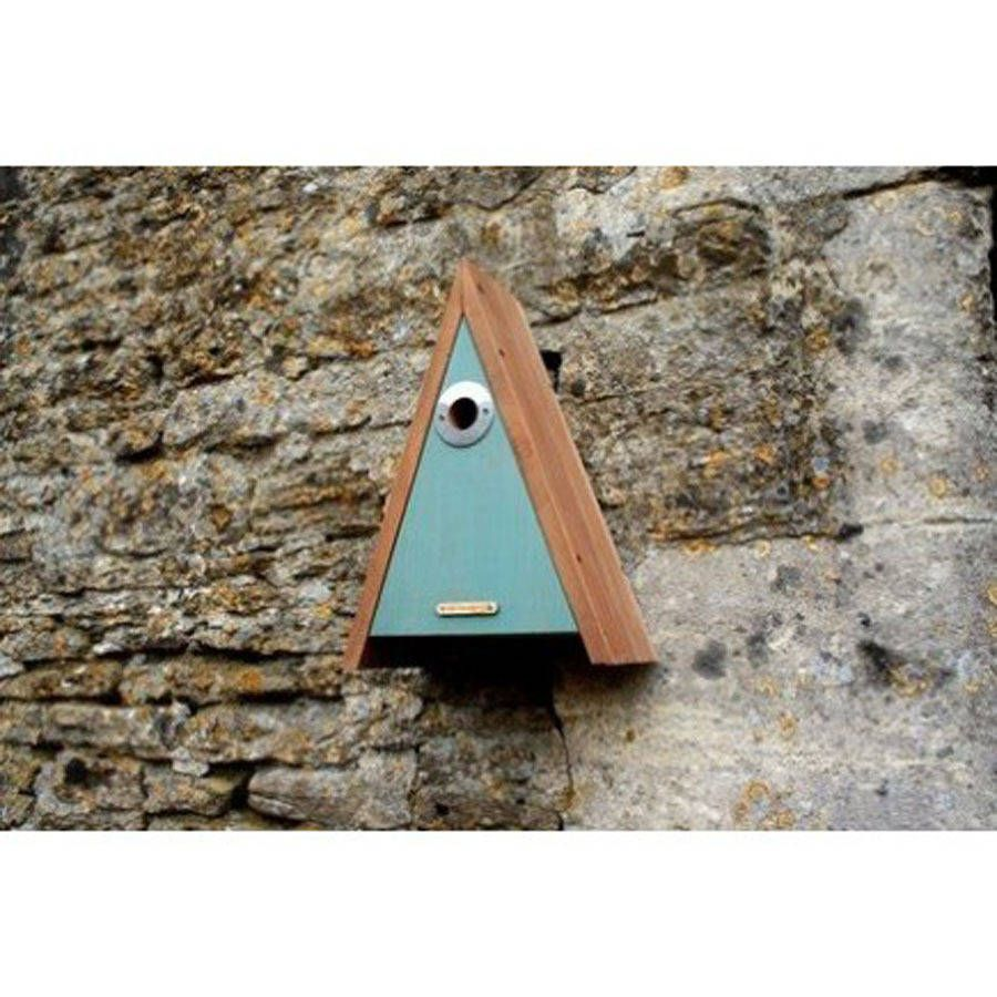 Set Of Two Traditional Wooden Bird Nest Boxes Nesting Boxes Wooden Bird Wooden Bird Houses