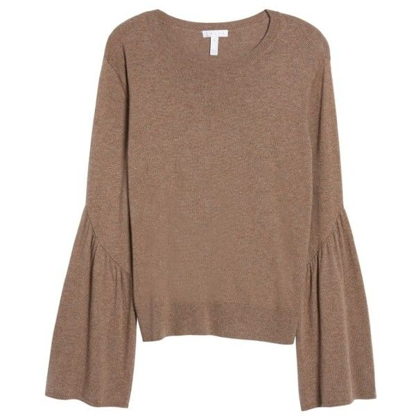 Women's Leith Bell Sleeve Sweater ($59) ❤ liked on Polyvore ...