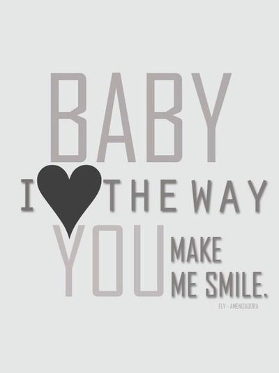 Baby I Love The Way You Make Me Smile : smile, Smile, Viewer