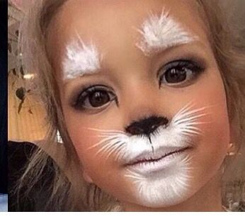 Easy face painting | Halloween | Pinterest | Easy face painting ...