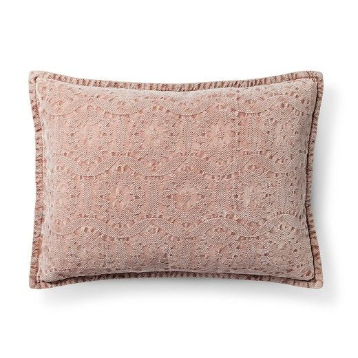 Chenile Oblong Decorative Pillow Threshold™ Target Beauteous Target Decorative Bed Pillows