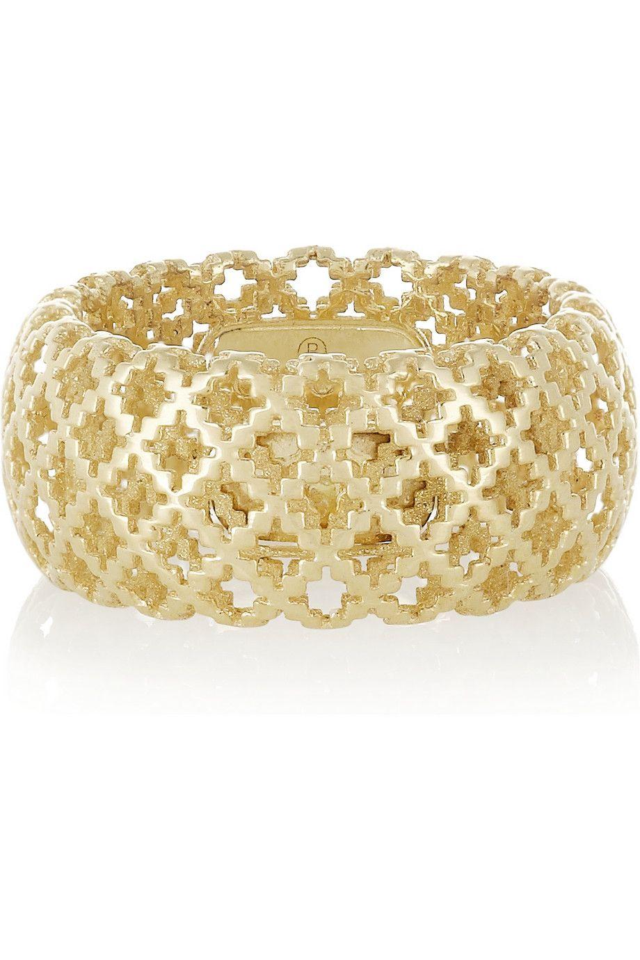 7d85c6a93 Gucci | Diamantissima 18-karat gold ring | NET-A-PORTER.COM | w.t.s. ...