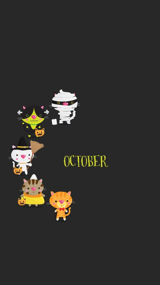 October Halloween - Tap to see more awesome October wallpaper! | @mobile9 #octoberwallpaperiphone