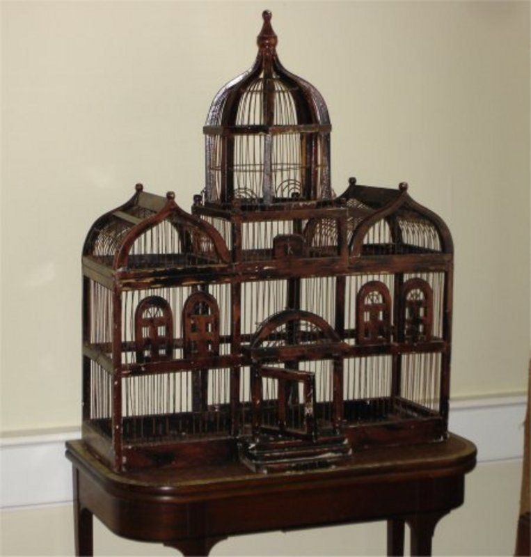 Large Victorian Decorative Cages | Large Victorian Bird ...