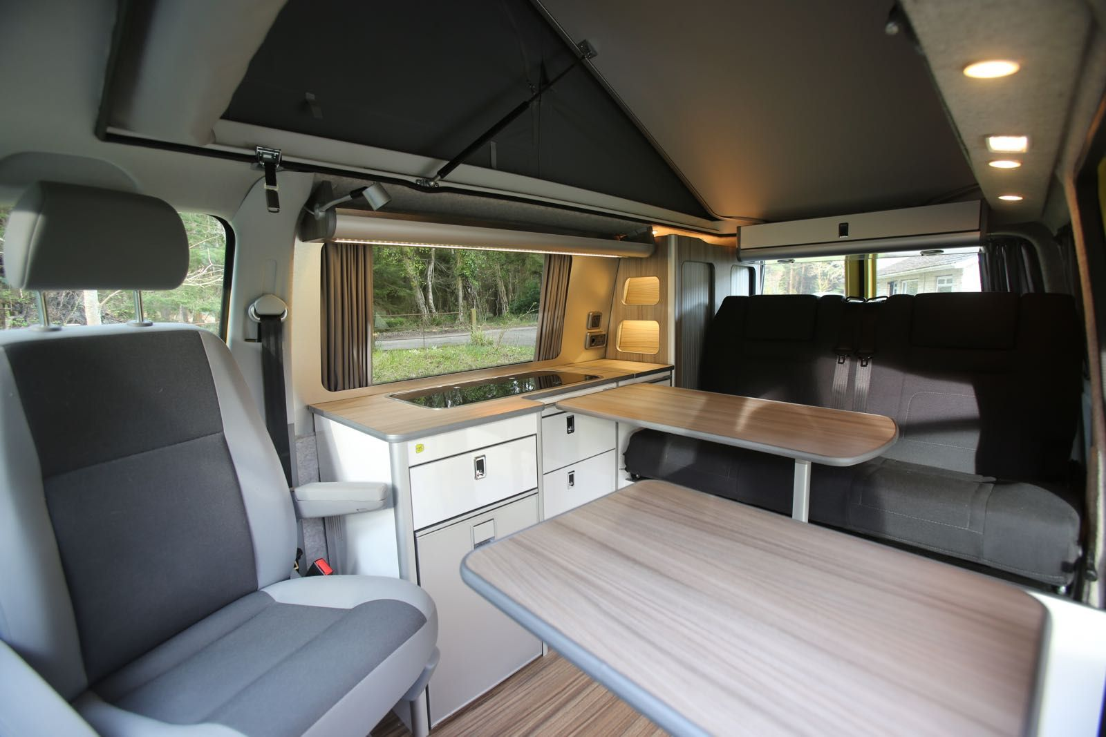 Conversion Gallery  VW T6 Campers  Kitchen Pods  Flat Pack