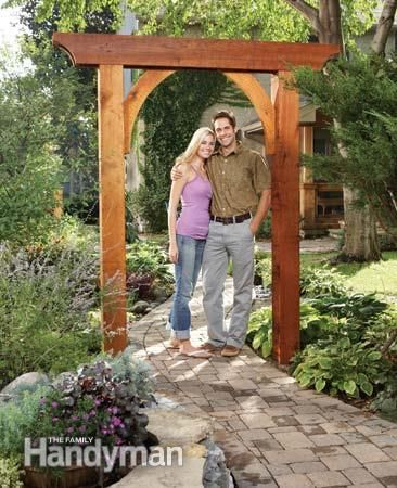 Garden Arbor Ideas find this pin and more on pergola creative ideas wood Build A Garden Arch