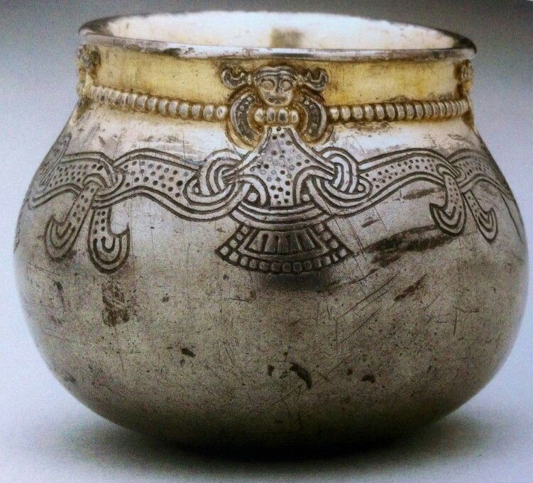 Silver Cup From Lejre Viking Jewelry Viking Age Viking Culture