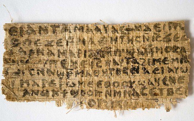 Papiro do século IV sugere que Jesus Cristo foi casado