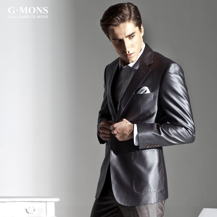 Boss Selection Men's Silk Suit and GQ Magazine | RAGS | Pinterest