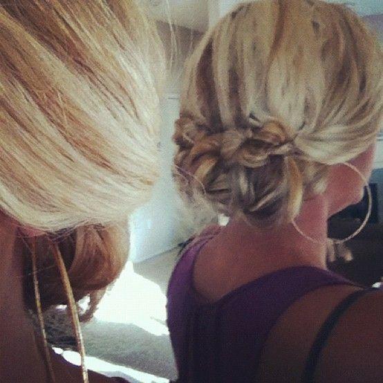 Twisted Tri-Pony Bun {Hair Tutorial} by vivian | hair ...