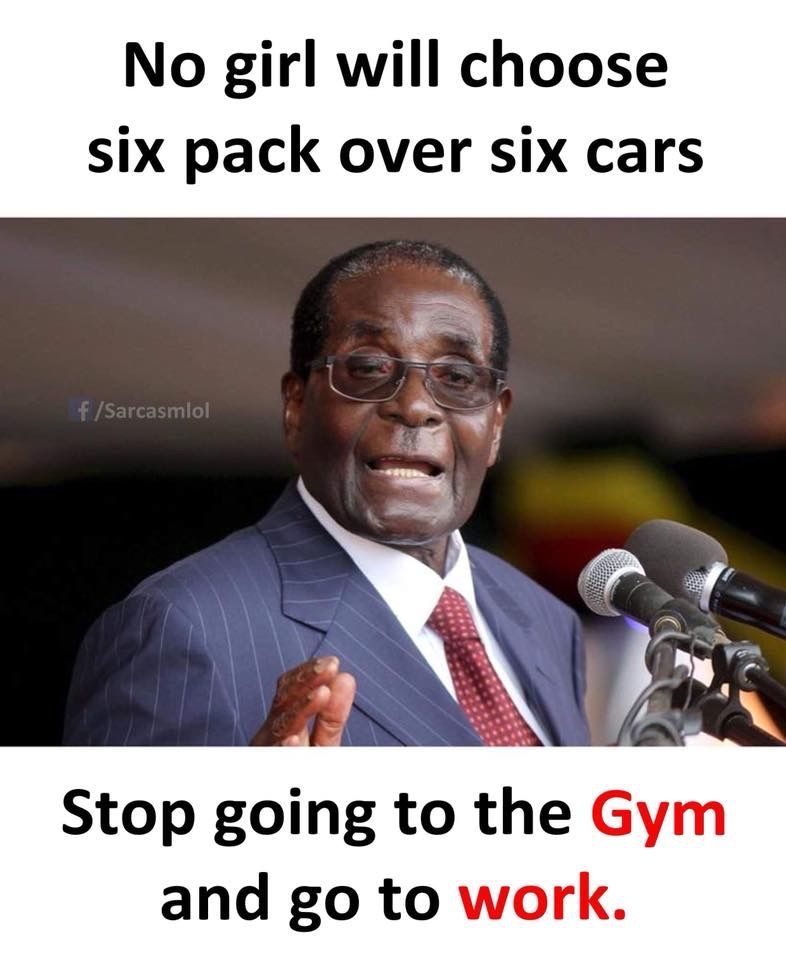no girl will choose six pack over six car..// let me know what you think in the comments ?
