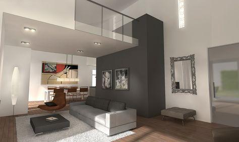 moderne woonkamer met vide - Google zoeken | wooninspiratie ...