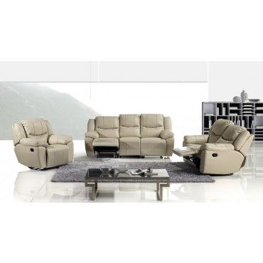 Modern Multifunction Sofa Loveseat Chair Living Room Set AE930-TAN