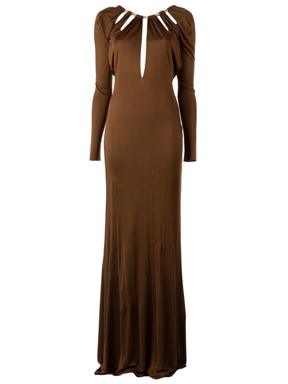 Emilio Pucci Backless Evening Gown - L'eclaireur - Farfetch.com