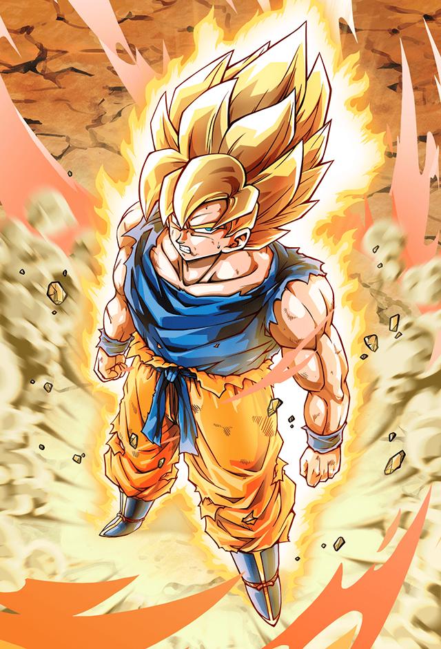 Goku Ssj Namek Saga Card Bucchigiri Match By Maxiuchiha22 Dragon Ball Super Manga Anime Dragon Ball Super Dragon Ball Artwork