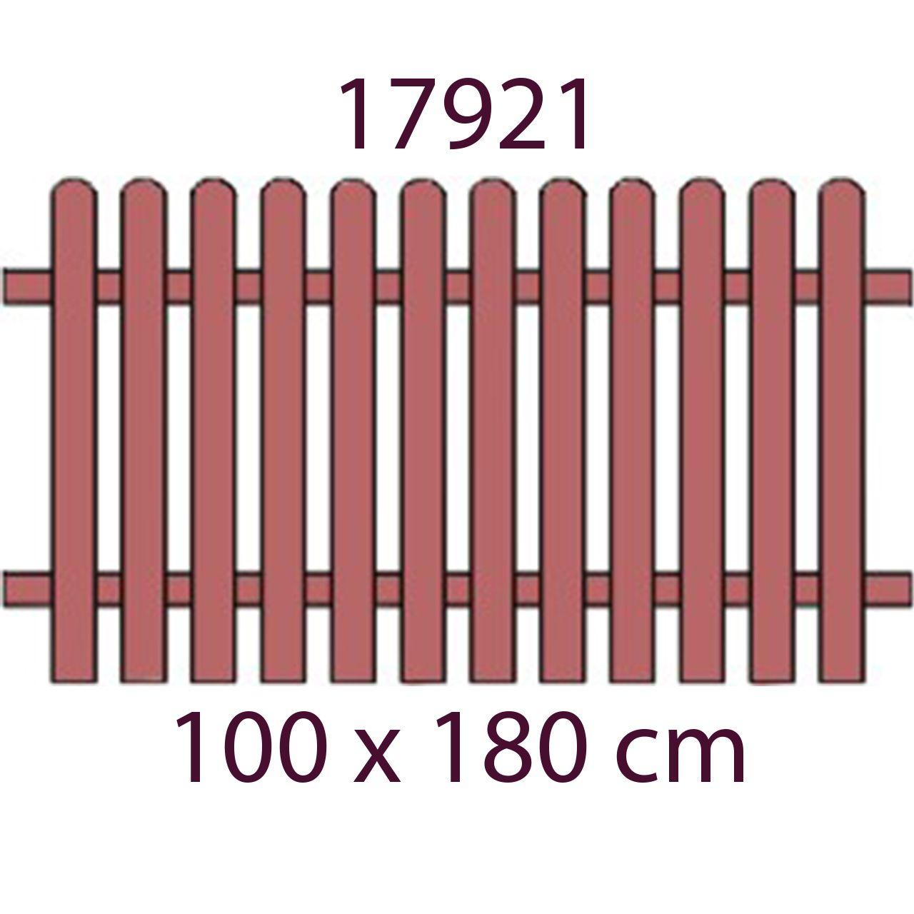B&D Burchex Laťkový plot modřínový | BigFun.cz